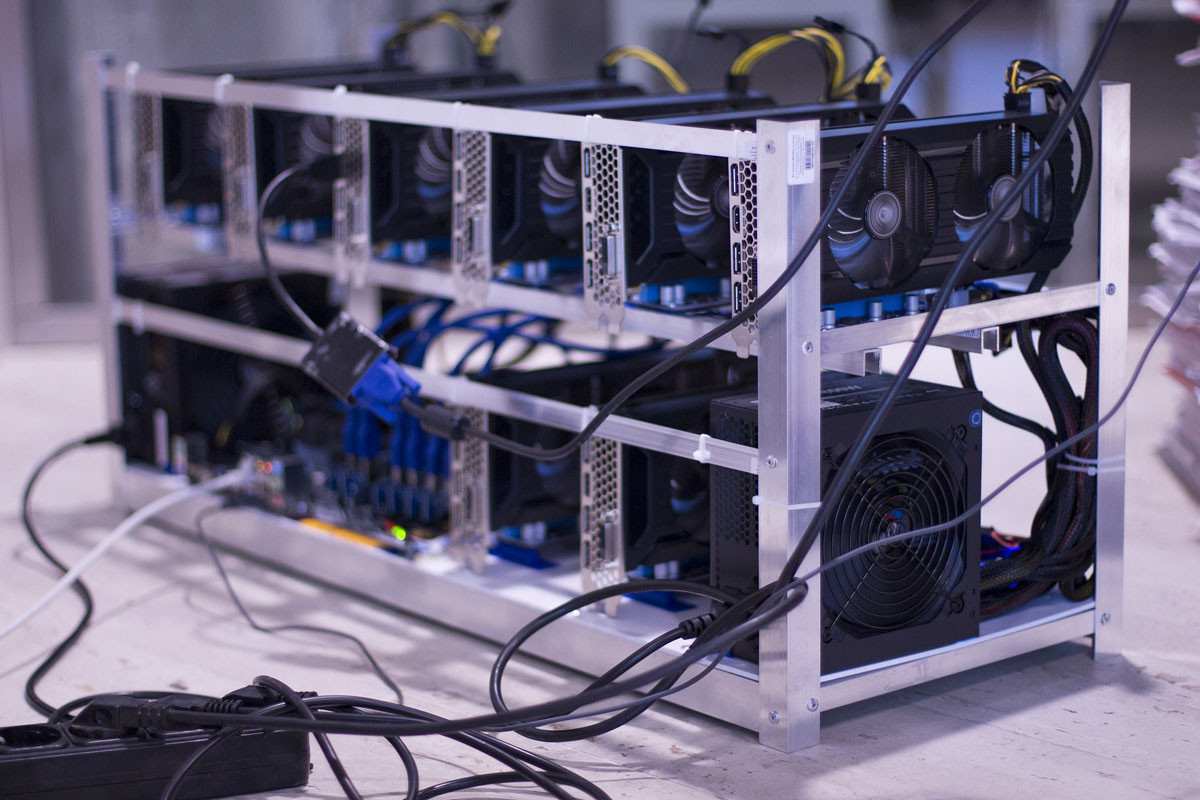 cryptocurrency mining hardware