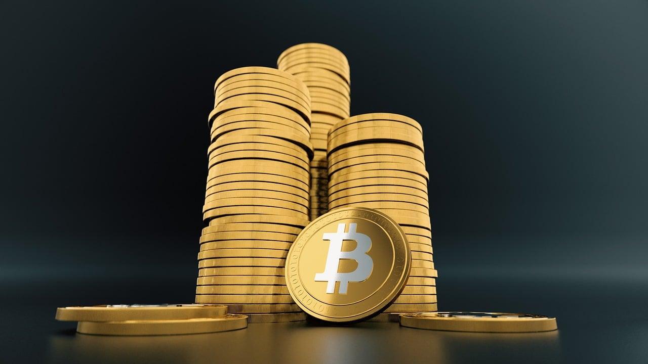 large amount of Bitcoin