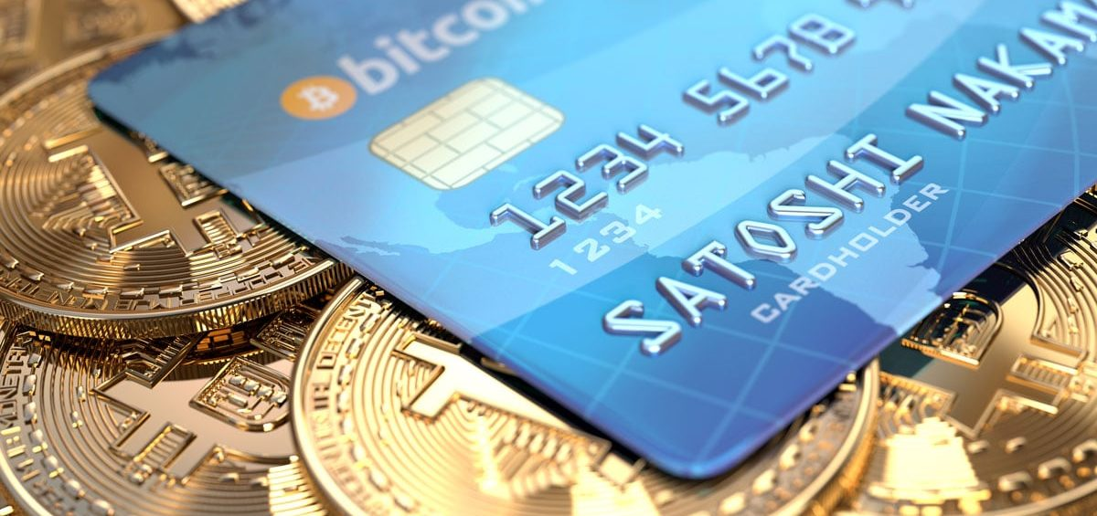 Bitcoin & cryptocurrency debit card
